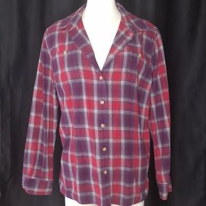 Duluth Trading Company Flannel Shirt